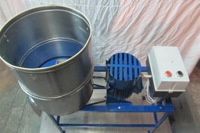 Дробилка для яблок своими руками из стиральной машины