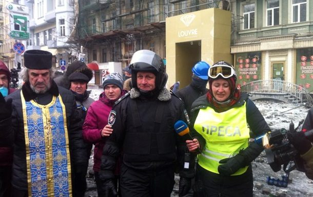 Вглобальной паутине всплыло интересное фото Савченко сМайдана— Два Героя Украины