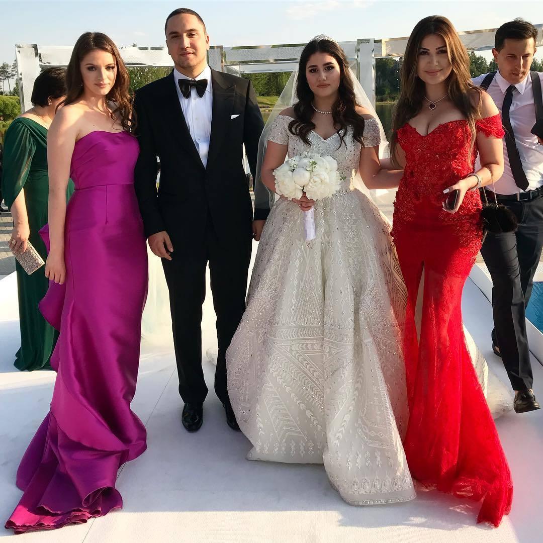Лепс, Меладзе иБасков зажгли на роскошной свадьбе дочери миллиардера