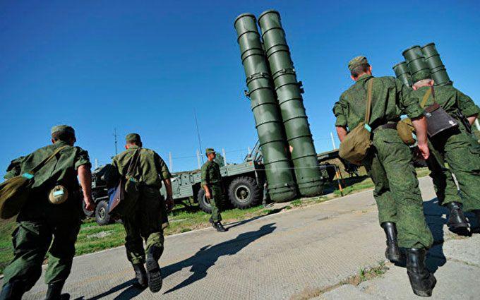 Военные вКрыму получили зенитную ракетную систему С-400